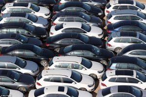 سيارات الديزل العائدة لفولكس فاغن وأودي متواجدة في صحراء كاليفورنيا.