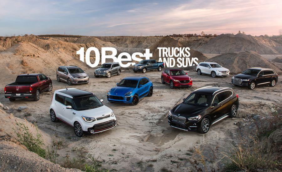أفضل 10 سيارات SUV 2018